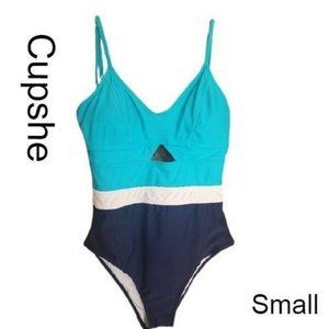 Cupshe V-Neck Tummy Control Swimsuit
